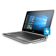 "HP Pavilion X360 2-in-1 Touchscreen Convertible 15.6"" Notebook, Intel Core i3-7100U Processor, 8GB Memory, 1TB Hard Drive, HD Wide FOV Webcam, B&O Play Audio, Includes Active Stylus Pen, Windows 10 Home"