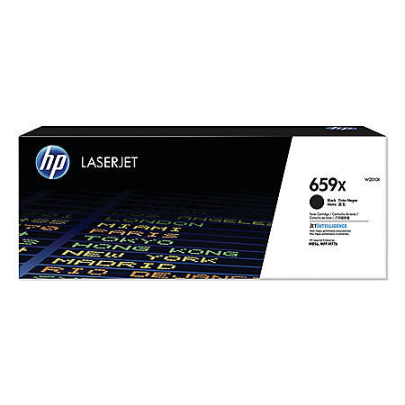 HP 659X Original LaserJet Toner Cartridge (Select Color)