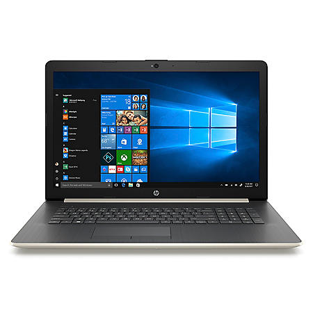 "HP 17.3"" HD+ Notebook, Intel Core i3-8130U Processor, 20GB:  16GB Intel Optane + 4GB RAM, 2TB Hard Drive, Optical Drive, HD Webcam, HD Audio, 2 Year Warranty Care Pack, Windows 10 Home, Multiple Colors"