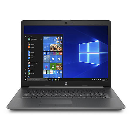 "HP 17.3"" HD+ Laptop, AMD A9-9425 Processor, 4GB DDR4 Memory, 1TB 5400 RPM Hard Drive, AMD Radeon R5 Graphics, DVD-Writer, Windows 10 Home"