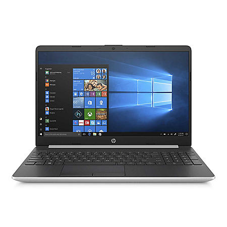 "HP 15.6"" HD Laptop, Intel Core i3-8145U, 4GB Memory, 128GB SSD, Backlit Keyboard, HD TrueVision HD Webcam, 2 Year Warranty Care Pack, Windows 10 Home, Multiple Colors"