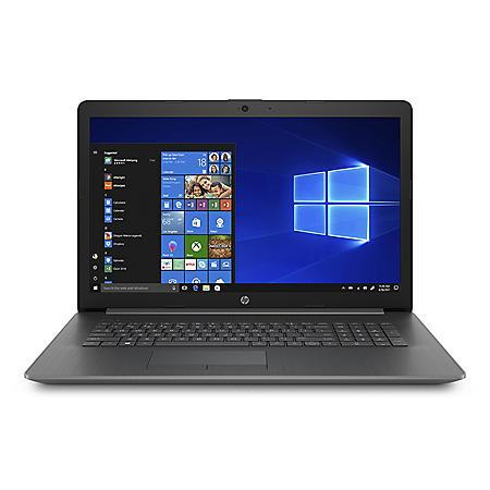 "HP 17.3"" HD+ Laptop, AMD A9-9425 Processor, 8GB DDR4 Memory, 1TB 5400 RPM Hard Drive, DVD-Writer, Windows 10 Home"