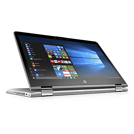 "HP Pavilion X360 14.0"" Convertible Touchscreen Laptop, Intel Core i3-7100U Processor, 8GB Memory, 256GB SSD Storage, 2 Year Warranty Care Pack with Accidental Damage Protection, Windows 10 Home"