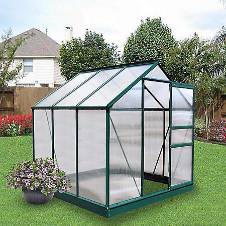 Member's Mark 6' x 6' Aluminum Powder Coated Greenhouse