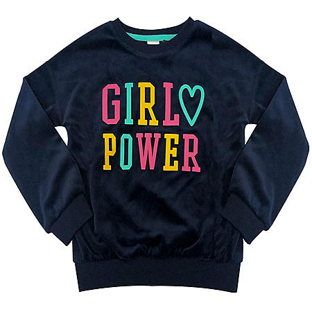 Member's Mark Girl's Graphic Sweatshirt (Various Styles)
