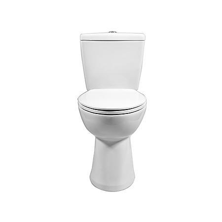 Member's Mark 2-Piece High-Efficiency Dual Flush Toilet, White
