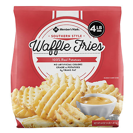 Member's Mark Southern Style Waffle Fries, Frozen (4 lbs.)