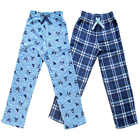 Member's Mark Boy's 2-Pack Pajama Pant (Various Styles)