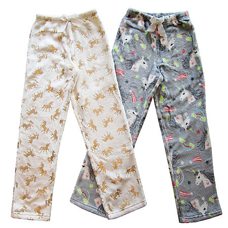 Member's Mark Girl's 2-Pack Pajama Pants (Various Styles)
