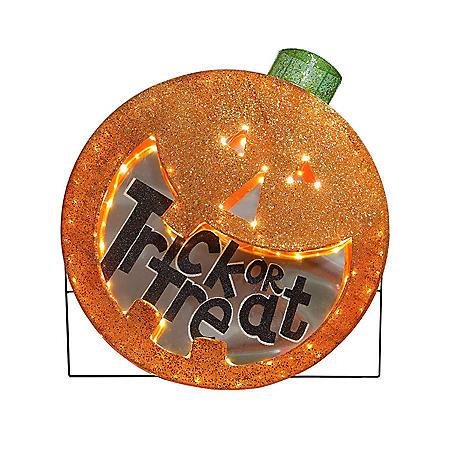 Member's Mark Pre-Lit Jack-O-Lantern Halloween Decoration