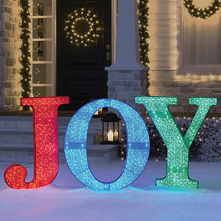 Member's Mark LED JOY Sign (Multicolor)