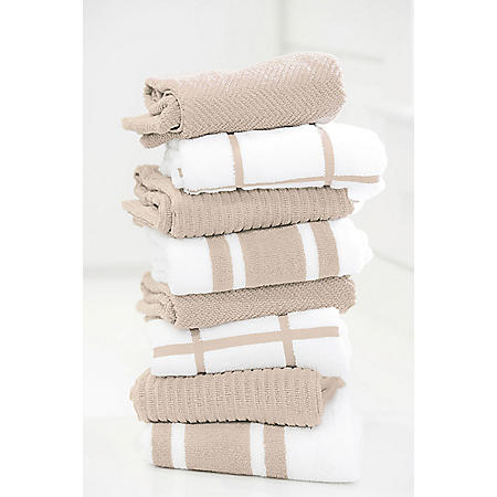 "Member's Mark 8-Pack Kitchen Towels, 20"" x 28"" (Assorted Colors)"
