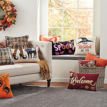 Member's Mark Harvest and Halloween Pillows