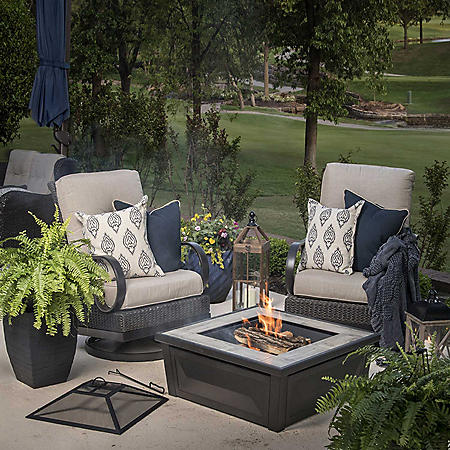 "Member's Mark 36"" Wood Burning Fire Pit & Table"