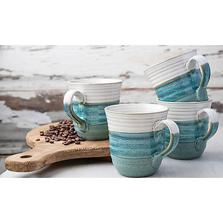 Member's Mark 4-Piece Mug or Bowl Set (Choose your set)