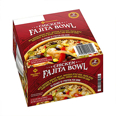 Member's Mark Chicken Fajita Bowl (2 pk.)