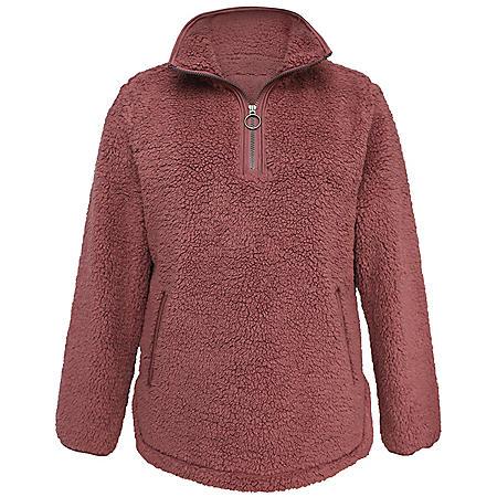 Member's Mark Ladies' Cozy Sherpa Pullover