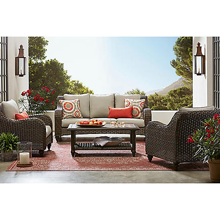 Member's Mark Savannah 4-Piece Deep Seating Set