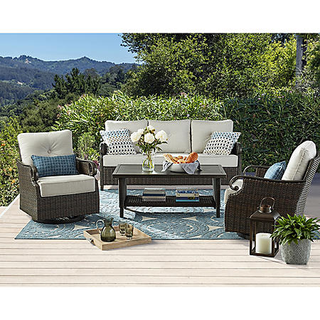 Member's Mark Ridgethorne 4-Piece Deep Seating Set