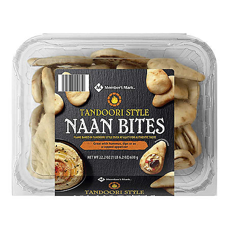 Member's Mark Tandoori Style Naan Bites (14 oz.)