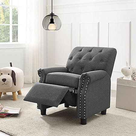 Hailey Kids' Recliner, Various Colors