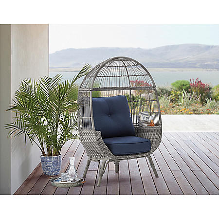 Member's Mark Stationary Egg Chair (Grey)