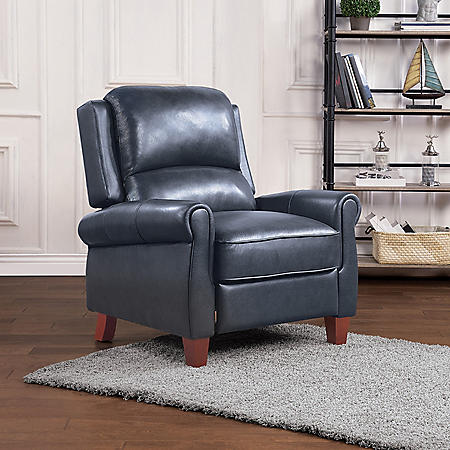 Member's Mark Olivia Leather Pushback Recliner, Assorted Colors