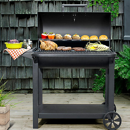 "Member's Mark 35"" Barrel Charcoal BBQ Grill"