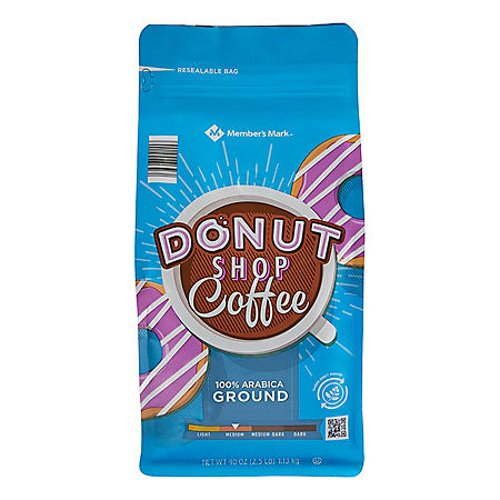 Member's Mark Donut Shop Ground Coffee (40 oz.)