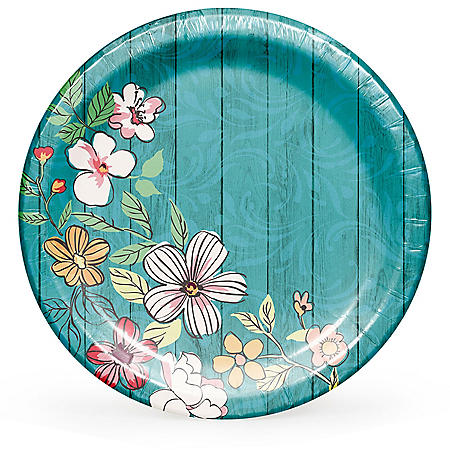 Member's Mark Farmhouse Floral Paper Plates - 90 ct.