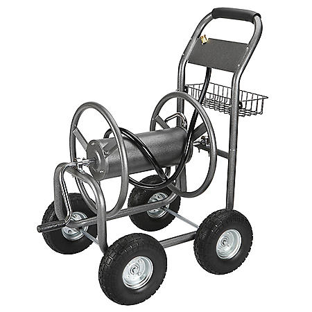 Member's Mark Hose Reel Cart with Steel Basket