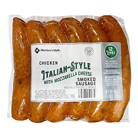 Member's Mark Smoked Italian-Style Chicken Sausage (12 ct.)