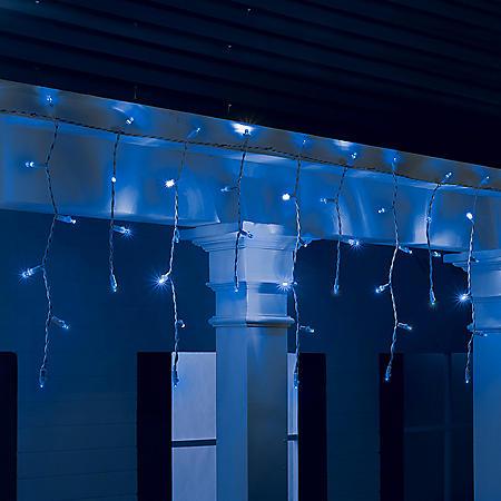 Member's Mark 18' LED Icicle Lights (Blue)