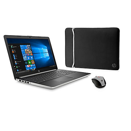 """HP 15.6"""" HD Touchscreen Laptop, AMD Ryzen 7 3700U Processor, 8GB Memory, 512GB SSD Storage, Backlit Keyboard, 2 Year Warranty Care Pack with Accidental Damage Protection, Windows 10 Home"""