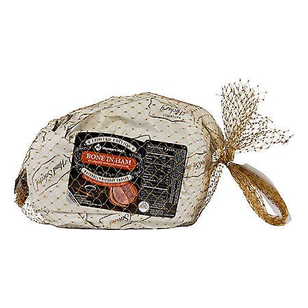 Member's Mark Brown Sugar Spiral Bone-In Ham (priced per pound)