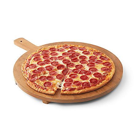 Fresh Hot Pepperoni Pizza