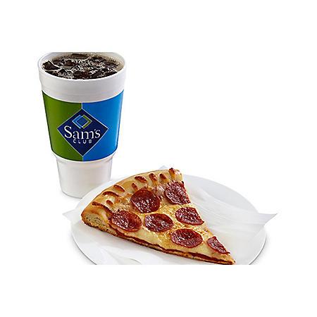 Pizza Slice - Soft Drink Combo