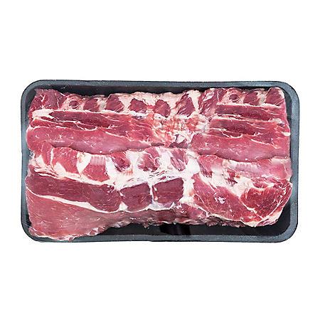 Member's Mark Pork Loin Back Ribs Tray (priced per pound)
