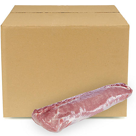 Boneless Pork Loin, Bulk Wholesale Case  (5-6 pieces per box, priced per pound)