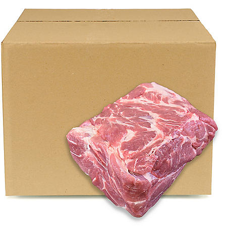 Pork Boston Butt, Bulk Wholesale Case (priced per pound)