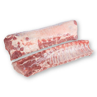 Fresh All Natural Bone-in Pork Center Loins (2 loins per bag, priced per pound)