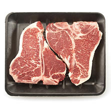USDA Choice Angus Beef Loin T-Bone Steak (2-3 Steaks, Priced Per Pound)