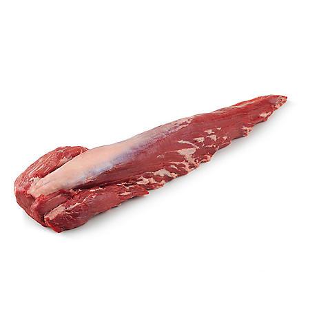 USDA Choice Angus Beef Whole Tenderloins Cryovac (priced per pound)