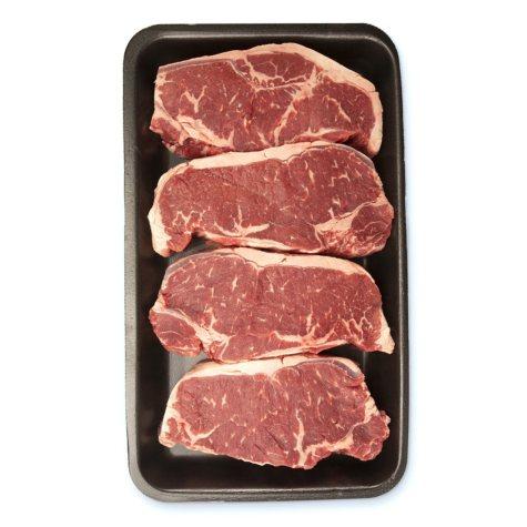 USDA Choice Angus Beef Boneless Strip Steak (priced per pound)