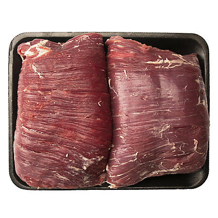 USDA Choice Angus Beef Flank Steak (priced per pound)