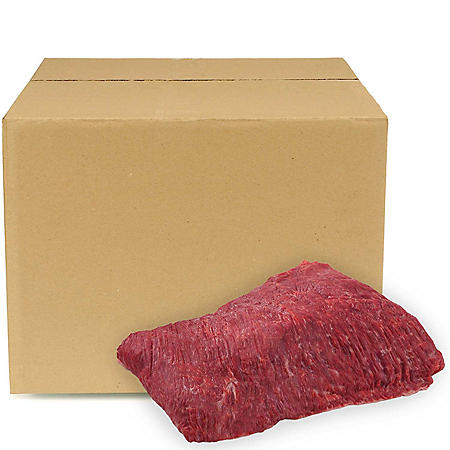 USDA Choice Angus Beef Flap Meat, Bulk Wholesale Case (piece count varies by case, priced per pound)