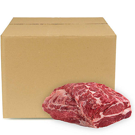 Whole Beef Chuck Roll, Bulk Wholesale Case (3-4 pieces per case, priced per pound)