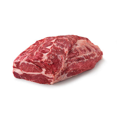 Case Sale: USDA Choice Angus Beef Whole Chuck Roll (1 piece per bag, priced per pound)