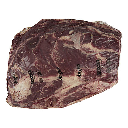 USDA Choice Angus Beef Thin Sliced Whole Chuck Roll, Cryovac (priced per pound)