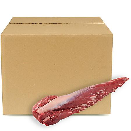 USDA Prime Beef Whole Tenderloins, Bulk Wholesale Case (priced per pound)